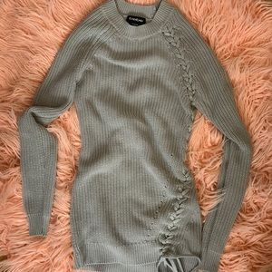 Bebe Cable Knit Sweater